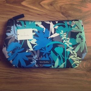 Vera Bradley Large Cosmetic Pouch in Camofloral